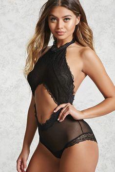 Lace Cutout Lingerie Bodysuit Bodysuit Fashion db0d32465
