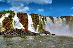 Sant Antony waterfall, Para/Amapa, Brazil
