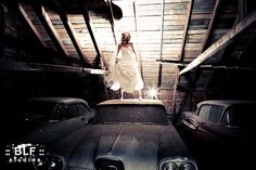 doesn't this just make you think...bad ass bride??? ;)