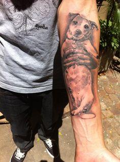 foxterrier tattoo