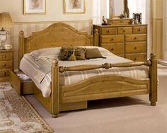 Airsprung Camas La cama de madera de Carolina
