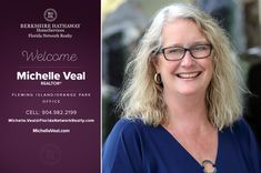 BERKSHIRE HATHAWAY HOMESERVICES FLORIDA NETWORK REALTY WELCOMES MICHELLE VEAL