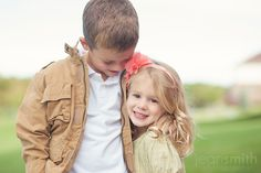 Best picture I've ever seen of a big brother and little sister.  <3