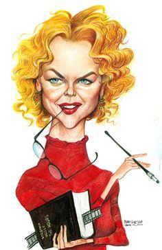 Nicole Kidman    Artist: Petar Pismestrovic   website: http://www.pismestrovic.com