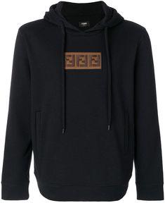 Fendi embroidered hoodie