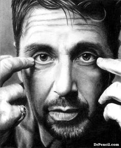 """""""Al Pacino"""" by Doctor-Pencil on DeviantArt"""