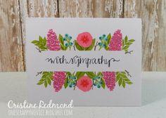 Fresh cut florals, wplus9, One Scrappy Novice: ..