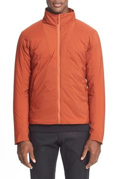 Free shipping and returns on Arc'teryx Veilance 'AmionnIs' Water ResistantJacket at Nordstrom.com. A pieced design sculpts a clean, masculine profile on a water-resistantjacket designed with a tall collar, snug cuffs and aclose fit that help keep heat in and moisture out.