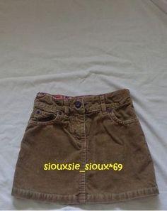 MINI BODEN Apple Pocket Tan Khaki Skirt sz 5 6Y