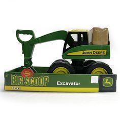 John Deere 38cm Excavator   ToysRUs Australia