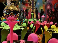 disco themed decor~