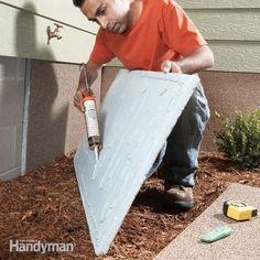 family handyman bookcase plans | Foundation Insulation Panels: The Family Handyman