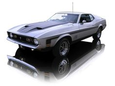 1972 Ford Mustang Mach 1 ... Our fav ride, our sweetest memories dating & married before our children were born ... ;}