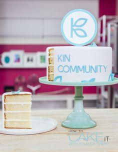 I'll walk you through the science of baking my favourite Vanilla Cake recipe from start to finish AND my essential fondant hacks all to celebrate my amazing @kincommunity family! #Dessert
