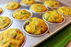 Individual Sausage Casseroles: There's no evading this simple truth of the universe: Sausage and egg casserole is one of the greatest breakfasts there is. It's retro bridal showers, anyone?), it's satisfying, it's flavorfu… Pioneer Woman Breakfast Casserole, Breakfast Casserole With Biscuits, Breakfast Casserole Sausage, Breakfast Dishes, Breakfast Recipes, Breakfast Cooking, Breakfast Muffins, Breakfast Time, Quiche Muffins