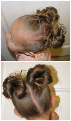 Mickey Mouse Ears | 17 Adorable Hairstyles Your Toddler Girl Will Love
