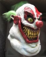 Price $64.95 - Sloppy the Clown is the first in our Clowns of Death series, a line of clown masks designed to be the most unique and scary Clown Masks ever produced.Sloppy the Clown is a true nightmare from the Carnival era, complete with shark like teeth, huge smile and piercing eyes, Sloppy is ready to say hello to little children everywhere! Circuses will never be the same again!