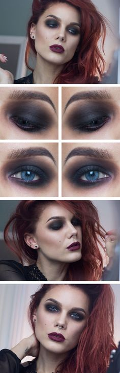 Todays look – Vamp if only I could pull it off