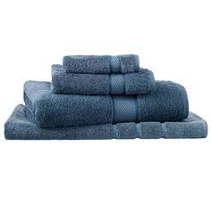 Sheridan Egyptian Luxury Bath Towel Smokey Blue Luxury Bath, Bath Towels, Egyptian, Bathroom, Blue, Washroom, Bathroom Towels, Bathrooms, Bath