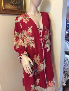 Vintage Oscar de la Renta romantique Floral dentelle Robe de