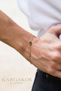 Inspired of geometric forms and exquisite materials we found a method to bring to life the modern approach of statement jewelry combined to fashion lines. #bracelet #kargakos #athens #malta #cross #designer #gold #black #enamel #colors #fashion #womangift #maltese #solidgold #shopping #luxury #forsale #jewelryfinds #model #geometricjewelry #jewelrymodel #instagirl #nature #simplejewelry #statement Simple Jewelry, Modern Jewelry, Fine Jewelry, Jewelry Making, Malta Cross, Solid Gold Bracelet, Jewelry Model, Geometric Jewelry, Silver Diamonds