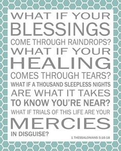 Beautiful blessings... I love this!