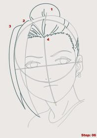 How to Draw Ino from Naruto