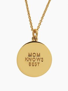 mothers day pendant - kate spade new york