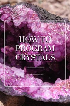 - How to Program a Crystal or Stone Learn how to program crystals. You can program crystals to help with your every day life. Buy Crystals, Chakra Crystals, Crystals Minerals, Crystals And Gemstones, Stones And Crystals, What Are Crystals, Crystal Uses, Crystal Magic, Crystal Healing Stones
