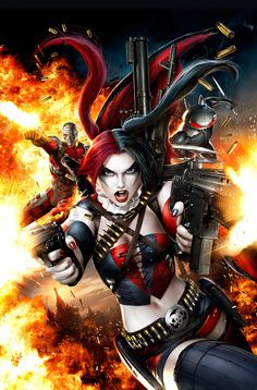 "Cover for ""New Suicide Squad 4"" by JPRart.deviantart.com on @deviantART"