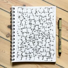 I really enjoy drawing this kind of patterns. Tangle Doodle, Zen Doodle, Doodle Art, Pattern Drawing, Pattern Art, Zentangle Patterns, Zentangles, Sakura Pens, Ink Pen Art