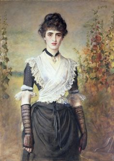 Il Penseroso. John Everett Millais