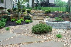 Popular Style > Low Maintenance Back Yard Landscaping Ideas Backyard Landscaping Ideas Jpg. 385 times like by user Simple Back Yard Landscaping Ideas Back Yard Landscaping Ideas On a Budget Small Backyard Ideas, author Charles North. Natural Landscaping, Cheap Landscaping Ideas, Stone Landscaping, Small Backyard Landscaping, Modern Backyard, Large Backyard, Landscaping With Rocks, Backyard Ideas, Outdoor Ideas
