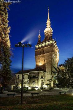 Clock Tower in Sighisoara