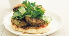 These low-fat pork mince patties are sure to become family favourites.
