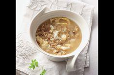 Drožďová polévka s ovesnými vločkami Oatmeal, Breakfast, Food, The Oatmeal, Rolled Oats, Hoods, Meals, Overnight Oatmeal