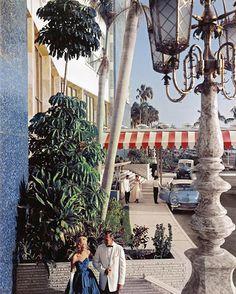 The Eden Roc Miami by architect Morris Lapidus, 1955