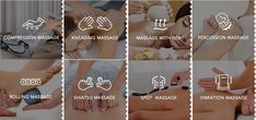 Find Well-Being trough the massage type that fits you best. Massage, It Works, Wellness, Type, Nailed It, Massage Therapy