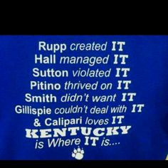 KENTUCKY BASKETBALL!!!