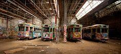 glebe tram in sydney