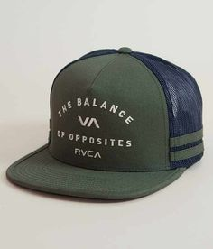 46c0ce760ff56 RVCA Challenger Trucker Hat - Men s Hats in Olive