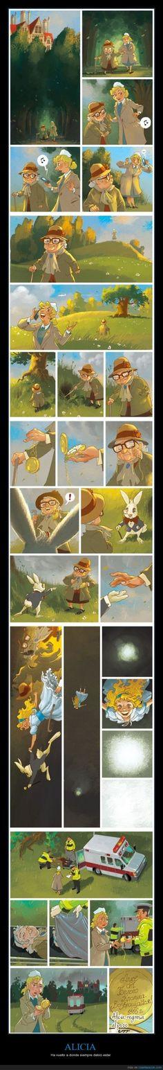 """Und das ist das wahre Ende von """"Alice im Wunderland"""""""