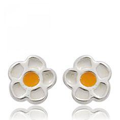 Ladies silver Songes marguerites earrings - Bijoux Paris Lady, Earrings, Jewelry, Daisies, Ear Rings, Stud Earrings, Jewlery, Jewerly, Ear Piercings
