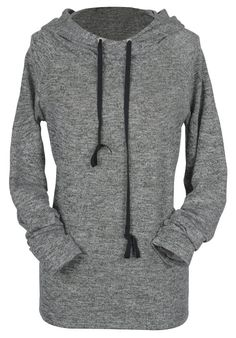 Best jogging hoodie ever to get with free shipping Now! This drawstring sweatshirt is detailed with slim style&create an ultra chic look! Cozy in the right way with Cupshe.com