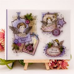 """""""angel beauty girl"""" Scrapbook DIY photo Album paper cards clear stamp transparent stamp for christmas gift CC-182"""