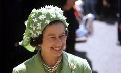 Queen Elizabeth II in 1977.