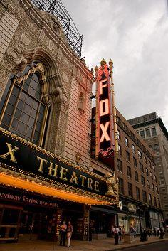 Fox Theatre, St. Louis aka The Most Fabulous Theatre.