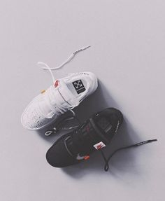 Off white x Nike presto black & white Womens Fashion Sneakers, Fashion Shoes, Women's Fashion, Sneakers Looks, Shoes Sneakers, Nike Presto Black, Shoe Image, Only Shoes, Dream Shoes