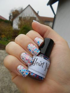 Nail Polish Obsession: Review: GlimmerbyErica I Heart You