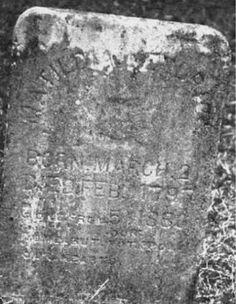 TOMBSTONE TUESDAY: MATILDA ERWIN-KENDRICK, 1797-1880 #genealogy